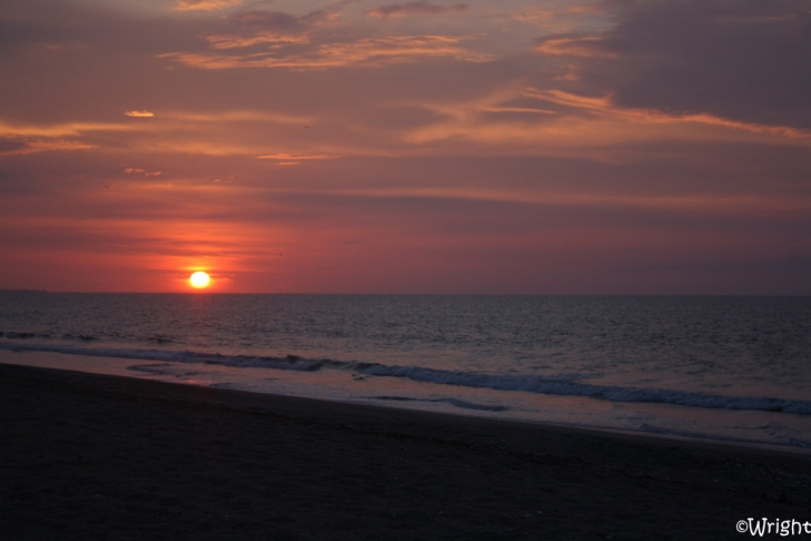 A Beautiful Sunrise at Edisto Beach. ;)